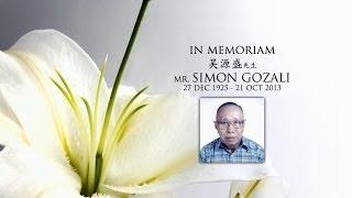 In Memoriam of Simon Gozali (photos & videos)