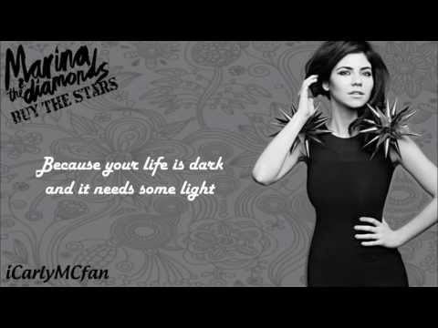 Marina & The Diamonds -  Buy The Stars -  lyrics video