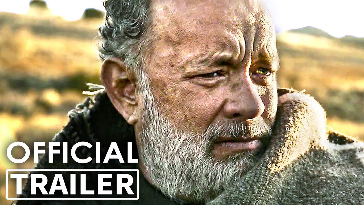 NEWS OF THE WORLD Extended Trailer (NEW 2020) Western, Tom Hanks