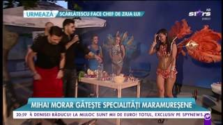 """STARoganță la """"Răi da' buni"""". Mihai Morar gătește specialități maramureșene"""