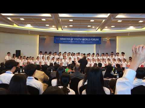 """2018 WCC Korea The 8th Minister Of Youth World Forum """"Gracias Music School"""""""