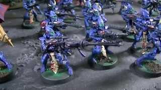 Webway Eldar combined force- Blue Table Painting