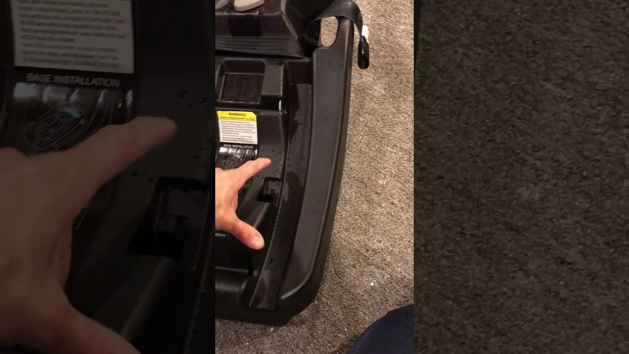 Recaro Coupe Infant Car Seat Not Releasing Or Disconnecting From Base Problem