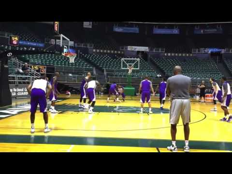 Los Angeles Lakers Full Scrimmages Highlights 2015 Training Camp in Hawaii