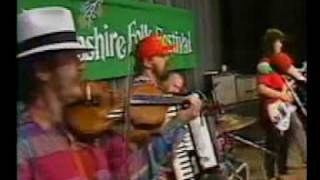 """Zydeco Boogaloo,"" Boogaloo Swamis, Ryan Thomson on cajun zydeco fiddle"
