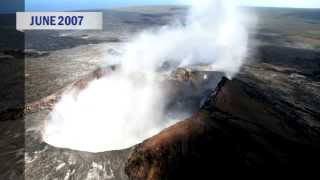 Hawaii Volcano eruption 31 year history - part 4 (2007 to 2011)