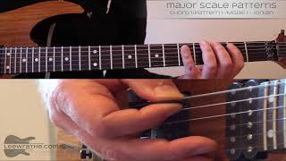 Learn the Major Scale across the entire fretboard | Guitar Lesson |  Lee Wrathe