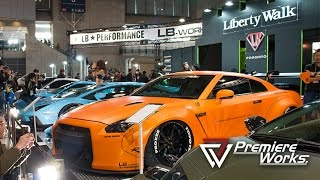 Premiere Works: Liberty Walk at Tokyo Auto Salon 2015 (Japan)