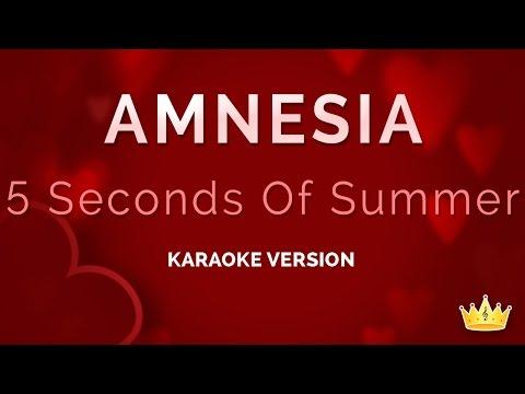 5 Seconds Of Summer - Amnesia (Karaoke Version)