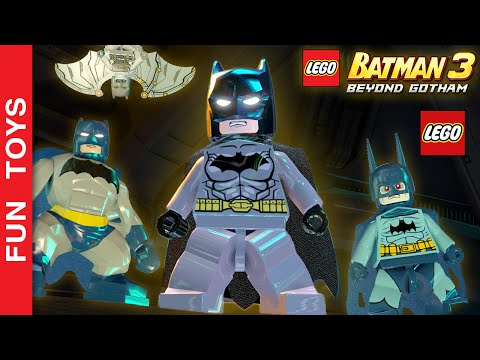 TODOS os Uniformes, Armaduras e Trajes do Batman e Robin do jogo LEGO Batman 3: Beyond Gotham + DLCs: Neste vídeo mostramos todos os Trajes, Armaduras e Uniformes do Batman e Robin do Jogo LEGO Batman 3: Beyond Gotham. Mostramos também alguns personagens diferentes do Batman que vem DLCs!  Mostramos todos os trajes, inclusive Traje de Sensor, Traje de Energia, Traje Sônico, Traje Espacial, Traje Ártico, Traje Elétrico Traje de Mergulho do Batmane e do Robin, Traje de Proteção, Traje Tecnológico, Traje de Iluminação, Traje de Capacete, Traje Magnético, Traje de Esfera, Ace o Batcão, Batman 1966, Cavaleiro Escuro, Zur-En-Arrh, Batman-Azrael, O Bravo e o Audaz, O Cavaleiro das Trevas da Revistinha, Detective Comics 27, Gotham by Gaslight, Tropas do Sinestro, Vampiro, Zebra e da Trilogia de filmes Cavaleiro das Trevas.  Comente abaixo, qual traje, armadura ou uniforme que você mais gostou neste vídeo.  Compre Brinquedos Lego Batman, Superman e DC aqui: http://amzn.to/1SpzP24   Veja aqui o outro video onde mostramos todos os Uniformes do Homem Aranha do jogo LEGO Marvel's Avengers: https://www.youtube.com/watch?v=W-O_EC_kI1o&list=PL2edokDcUWHLRrau5wZfxiP5gZjU7EHhA  Se você não viu o outro vídeo onde mostrarmos TODAS as armaduras do Homem de Ferro, clique neste link aqui: https://www.youtube.com/watch?v=lTRzmSsi8w0&list=PL2edokDcUWHLRrau5wZfxiP5gZjU7EHhA  Não se esqueça de dar um JOINHA no vídeo, MOSTRAR este vídeo para seus amigos e parentes e de se INSCREVER no canal clicando neste link: https://www.youtube.com/funtoysbrinquedosvideos/videos?sub_confirmation=1  SIGA-NOS / FOLLOW US: 😀 😅 😉 😍 😗 😜 😎 ✦Subscribe: https://www.youtube.com/channel/UCVOq9DX3BL9bBU9FrG5MpMA?sub_confirmation=1 ✦Twitter: https://twitter.com/FunToysBrinque ✦Google+: https://goo.gl/QVmgp0 ✦Instagram: https://instagram.com/fun_toys_brinquedos/ ✦Blog: http://festadeideias.com.br/Fun_Toys_Brinquedos/ ✦Facebook: https://www.facebook.com/Fun.Toys.Brinquedos.YT   ✦Veja outros vídeos legais: - GhostBuster Lego: https://www.youtube.com/watch?v=-HnalrWyDe8&list=PL2edokDcUWHLRrau5wZfxiP5gZjU7EHhA  - Hulk vs Hulkbuster: https://www.youtube.com/watch?v=eWoguD59Pio&list=PL2edokDcUWHLRrau5wZfxiP5gZjU7EHhA  - Gameplay Star Wars o Despertar da Força: https://www.youtube.com/watch?v=PuBQDInDxj0&list=PL2edokDcUWHLRrau5wZfxiP5gZjU7EHhA  - Faça um Flextangle, brinquedo de papel, de Heróis, do Frozen ou crie o seu: https://www.youtube.com/watch?v=5LjExz-wmJA&list=PL2edokDcUWHLRrau5wZfxiP5gZjU7EHhA  -  Will Ezra and Chopper plan work? Star Wars Rebels - Will Inquisitor win? - Short - Lego Set 75082 🚀 https://www.youtube.com/watch?v=GofUUE-K85w&list=PL2edokDcUWHLRrau5wZfxiP5gZjU7EHhA  - Faça seu carrinho de Lego movido a balão de festa: https://www.youtube.com/watch?v=MoMtgGZ-xQI&list=PL2edokDcUWHLRrau5wZfxiP5gZjU7EHhA  - DIY - Iron Man Lego + Minecraft https://www.youtube.com/watch?v=o24therBons&list=PL2edokDcUWHLRrau5wZfxiP5gZjU7EHhA  - Faça seu marcador de livro de Star Wars ou livre: https://www.youtube.com/watch?v=OAsvuJBVMAw&list=PL2edokDcUWHLRrau5wZfxiP5gZjU7EHhA  - Angry Birds: The fight for the remote control  ttps://www.youtube.com/watch?v=gTois0h4hWw&list=PL2edokDcUWHLRrau5wZfxiP5gZjU7EHhA  - Hulk Buster REAL LEGO https://www.youtube.com/watch?v=TxmEbJvIyuk&list=PL2edokDcUWHLRrau5wZfxiP5gZjU7EHhA  - Megatron - TRANSFORMERS LEGO https://www.youtube.com/watch?v=ZxyVimuxFYU&list=PL2edokDcUWHLRrau5wZfxiP5gZjU7EHhA  - Batman vs Superman https://www.youtube.com/watch?v=aYHSERE_hHU&list=PL2edokDcUWHLRrau5wZfxiP5gZjU7EHhA  ✦ENGLISH: In this video we show all the costumes, armor and uniforms Batman and Robin Game LEGO Batman 3: Beyond Gotham. We also show some different  Batman characters from the  DLCs!  We show all the costumes, including Sensor Costume, Power Dress, Sonic Backpack, Backpack, Arctic costume, Electric Dress Diving Costume Batmane and Robin, Protective Clothing, Technological Costume, Lighting Costume, Helmet Costume, Evening magnetic ball Gown, Ace Batcão, Batman 1966 Dark Knight, Zur-En-Arrh, Batman-Azrael, the Brave and the Bold, the Dark Knight of the comic book, Detective Comics 27, Gotham by Gaslight, troops Sinestro , Vampire, Zebra and the Dark Knight Trilogy films.  Comment below which uniform and armor you liked the most in this video.  If you have not seen the other video where we show ALL Iron Man armors, click this link here: https://www.youtube.com/watch?v=lTRzmSsi8w0&list=PL2edokDcUWHLRrau5wZfxiP5gZjU7EHhA  BUY LEGO BATMAN, SUPERMAN, DC HERE: http://amzn.to/1SpzP24   FOLLOW US / SIGA-NOS: 😀 😅 😉 😍 😗 😜 😎 ✦Subscribe: https://www.youtube.com/channel/UCVOq9DX3BL9bBU9FrG5MpMA?sub_confirmation=1 ✦Twitter: https://twitter.com/FunToysBrinque ✦Google+: https://goo.gl/QVmgp0 ✦Instagram: https://instagram.com/fun_toys_brinquedos/ ✦Blog: http://festadeideias.com.br/Fun_Toys_Brinquedos/ ✦Facebook: https://www.facebook.com/Fun.Toys.Brinquedos.YT