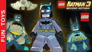 TODOS os Uniformes, Armaduras e Trajes do Batman e Robin do jogo LEGO Batman 3: Beyond Gotham + DLCs