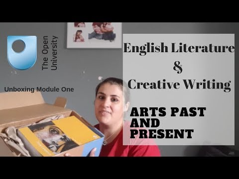 English Literature & Creative Writing | Module 1 unboxing | Open University | MummyTo3WifeTo1