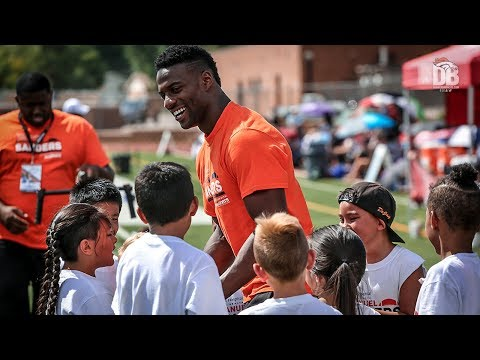 BTV: Emmanuel Sanders hosts second annual youth camp