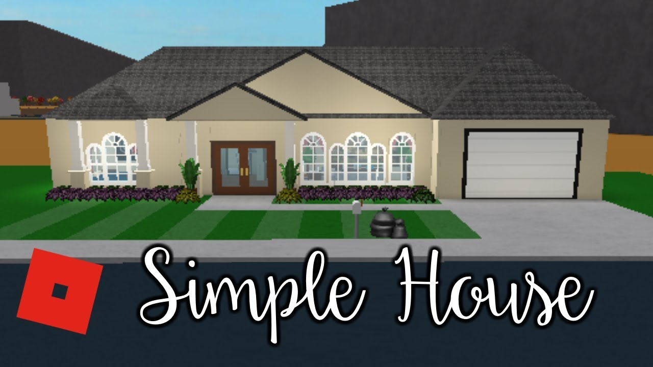 Welcome To Bloxburg: Simple House