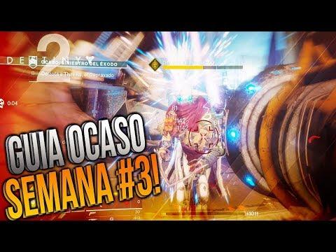 "GUIA OCASO - Semana #3: ""SINIESTRO del EXODO"" #Destiny2"