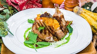 Seared Pork Chop with Apricot Mostarda - Home & Family