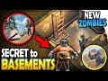 The SECRET to BASEMENT DUNGEONS (NEW ZOMBIES) - Last Day on Earth Survival