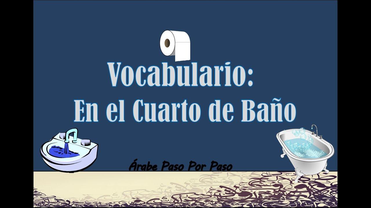 Vocabulario Árabe: En el Cuarto de Baño (25 palabras ...