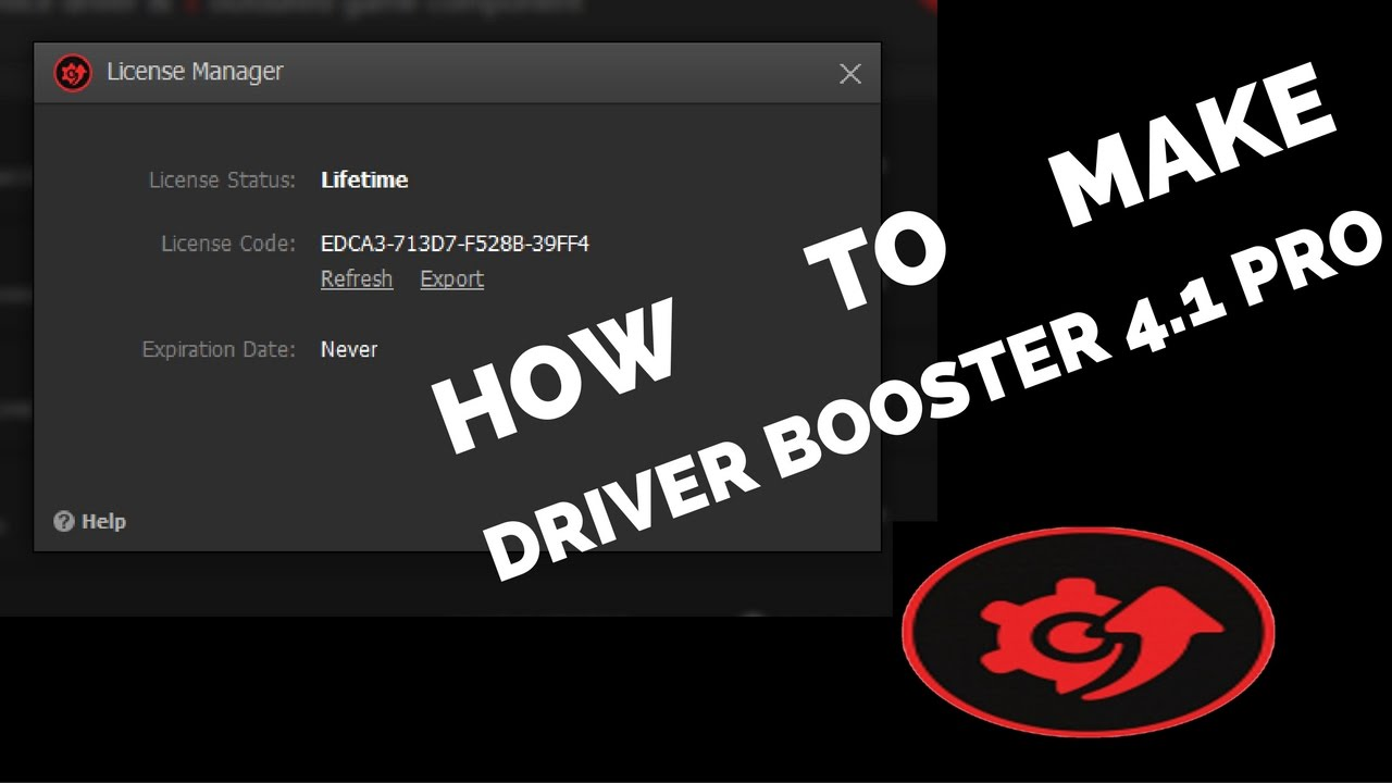 driver booster 4.1 key 2019