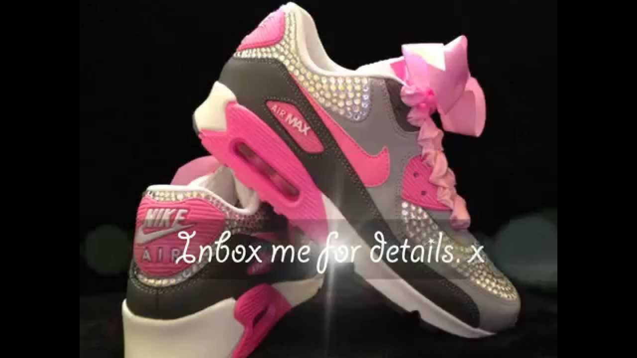 Fierce Fairy Footwear's BLING Nike Air Max 90's