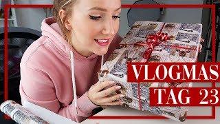 Geschenke einpacken, Gebrannte Mandeln Rezept & Instagram Fotos - Vlogmas 23 - TheBeauty2go