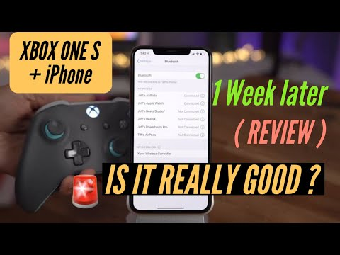 Xbox Controller  with iPhone - is it really good   One Week later Review.