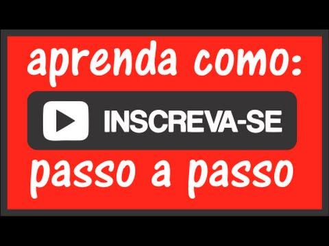 Como se inscrever em nosso Canal no Youtube - YouTube 321c567603e24