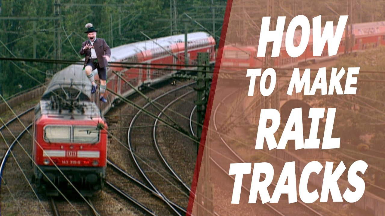 How Are Rail Tracks Made?