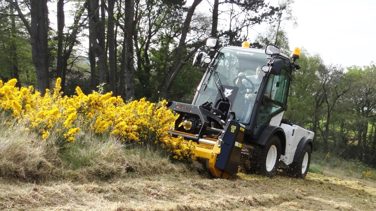 Multihog CX Tractor with Muething Flail Mower