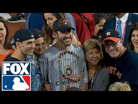 Justin Verlander joins FOX MLB after winning his first World Series   2017 MLB Playoffs   FOX MLB