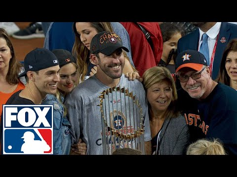 Justin Verlander joins FOX MLB after winning his first World Series | 2017 MLB Playoffs | FOX MLB