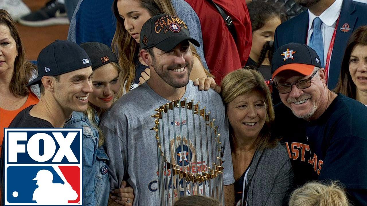 Justin Verlander joins FOX MLB after winning his first World Series ... 5cd76485e2b2
