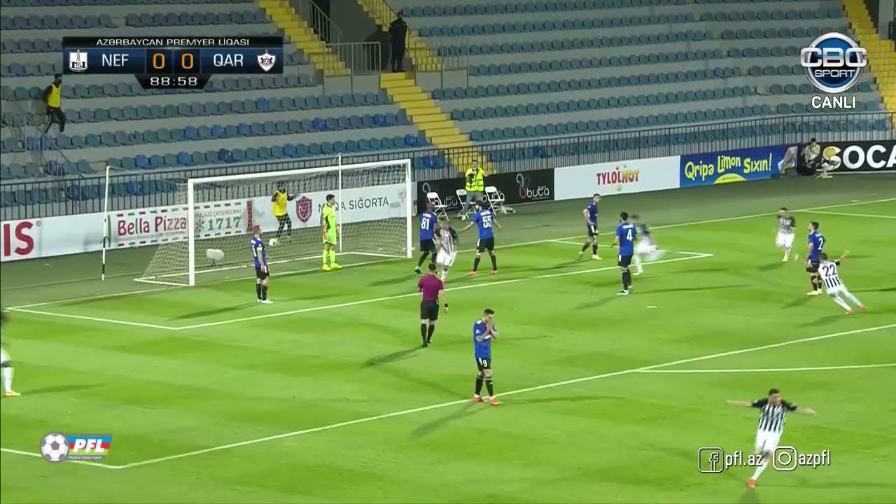 Neftçi 1 - 0 Qarabağ Qollar Neftçi çempion oldu