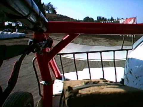 VRA/Bandit Grand Slam, Santa Maria Speedway, Jimmy Crawford Sprint Car In Car