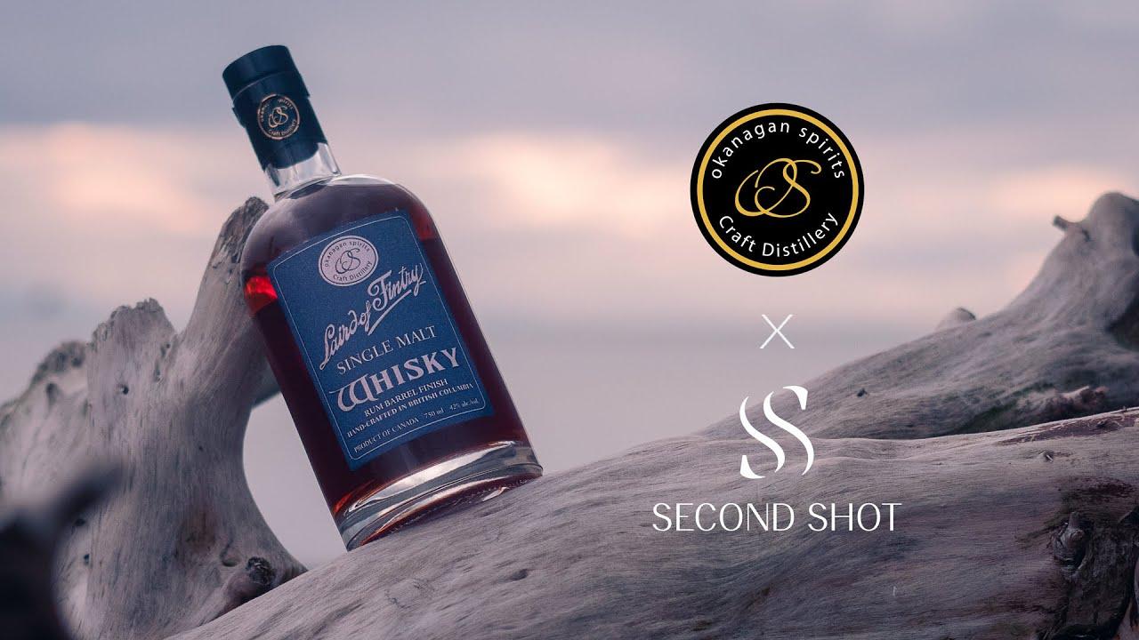 Okanagan Spirits Laird of Fintry Rum Barrel Finish Single Malt Release #3