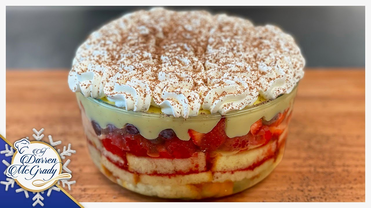 Traditional English Trifle The Perfect Christmas Dessert Youtube