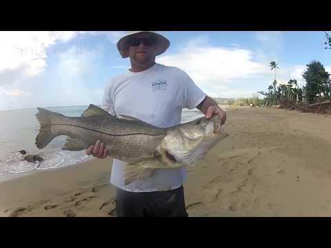 Surf Fishing Puerto Rico. Winter 2018