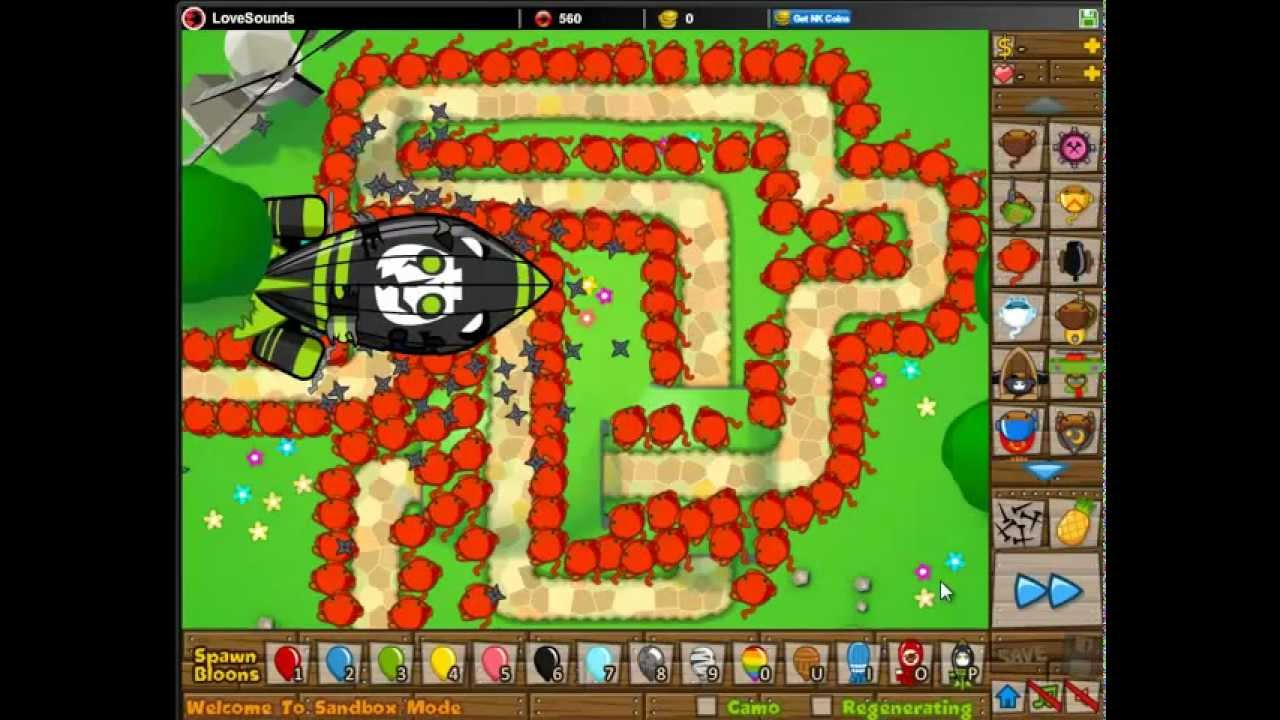 bloons defense tower