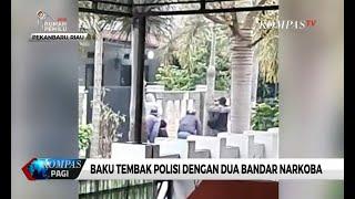 Mencekam! Baku Tembak Polisi dan Gembong Narkoba di Pekanbaru, 1 Bandar Eks Polisi Tewas