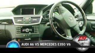zigwheels audi a6 vs mercedes e350 v6