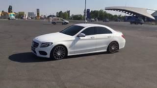 Тест драйв от мелкой One.  Mercedes-Benz C-класс w205
