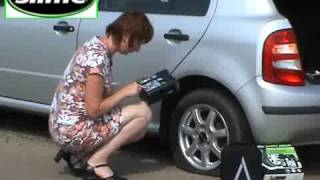 """Automatická opravná sada SLIME """"Safety spair"""" pro defekty osobních vozů"""