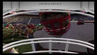 ESPN NFL 2K5 On The PS5 in 2020?  KC vs 49's First Person Football. 1st TD! 1080p (PCSX2)