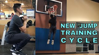 New Jump Training Cycle - Strength Workout (12/1/18)
