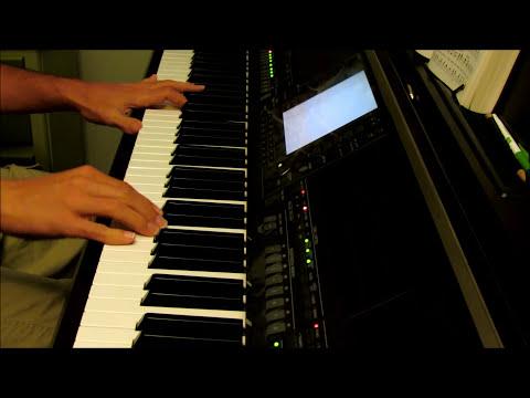 Great is Thy Faithfulness - piano instrumental hymn with lyrics