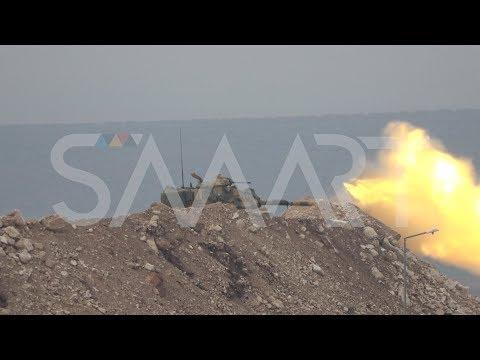 قصف مدفعي تركي على مواقع \