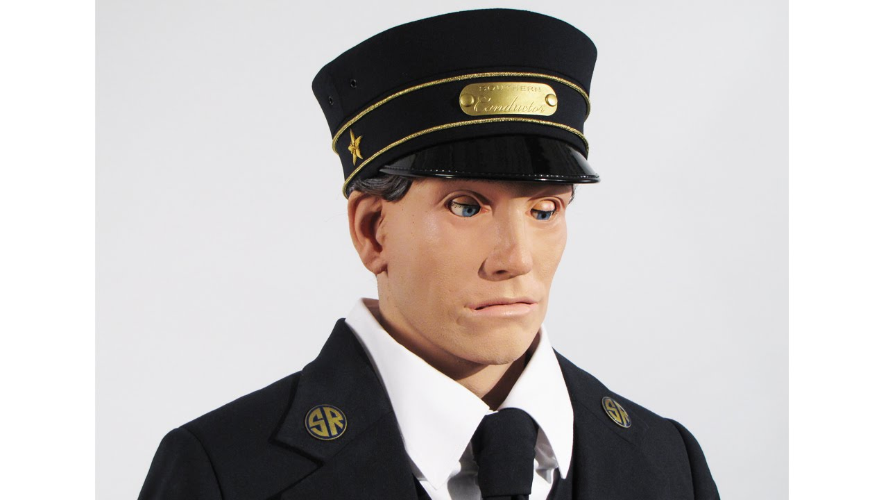 Train Conductor Animatronic Figure
