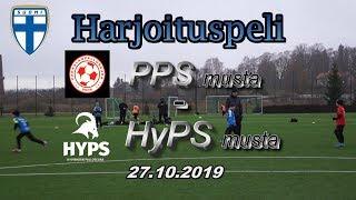 Harjoituspeli PPS musta vs HyPS P09 musta 27.10.2019