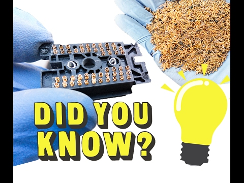 ♻Gold recovery from hidden gold plated pins. Recover gold from E-Waste♻