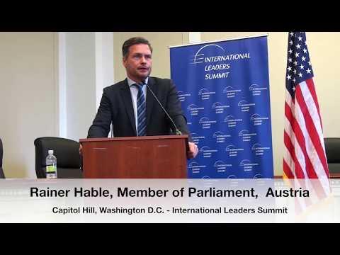 Rainer Hable - ILS Rule of Law Event, Capitol Hill, Washington D.C.